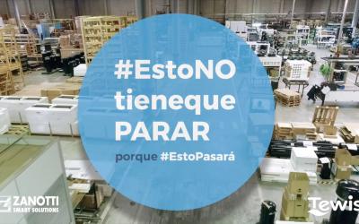 Tewis y Zanotti Smart Solutions se suman a la iniciativa #EstoNOtienequePARAR